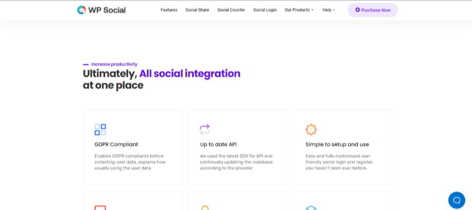 WP Social WordPress ecommerce plugin