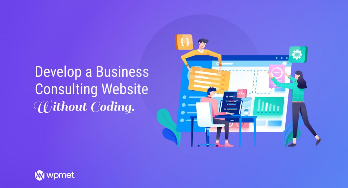 Develop a Business Consulting Website Free