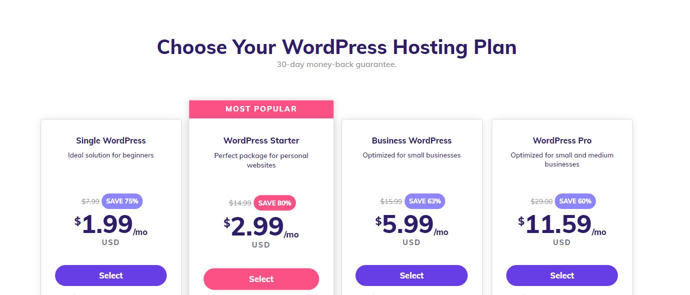 hostinger hosting service